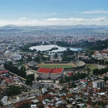 Tananarive capitale de Madagascar