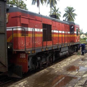 Train à Manakara, Madagascar