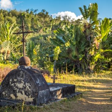 Le cimetière des pirates Sainte Marie, Madagascar